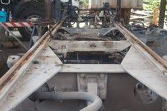 тележка шасси тавра новая стоковая фотография rf