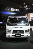 Тележка Hyundai Южной Кореи могущественная стоковое фото