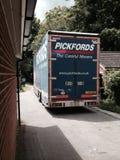 Тележка Pickfords Стоковые Изображения