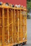Тележки хранения Rewe Стоковые Фотографии RF