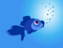Телескоп рыб Стоковые Изображения