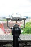 Телескоп управляемый монеткой панорамный Стоковая Фотография