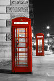 Телефонная будка красного цвета Лондона Стоковая Фотография RF