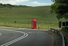 Телефонная будка красного цвета 7 сестер Стоковая Фотография