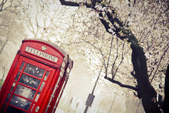 Телефонная будка Стоковое Фото