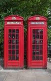 Телефонные будки Лондона Стоковые Изображения RF