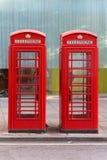 Телефонные будки Стоковые Фотографии RF