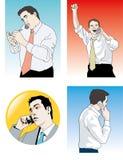 Телефон бизнесмена бесплатная иллюстрация