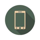 телефон иконы франтовской Стоковое фото RF