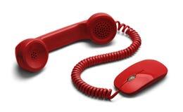 Телефон интернета стоковые фотографии rf