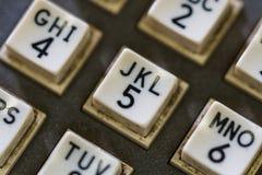 Телефон кнопки на линкоре Висконсине Стоковые Фото