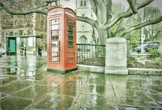 Телефон Лондона Стоковое Изображение RF