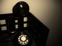Телефон подсвечника Стоковые Фото