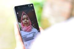 Телефон фото Стоковое фото RF