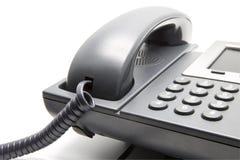 Телефон IP, конец-вверх кнопочной панели Стоковые Изображения RF