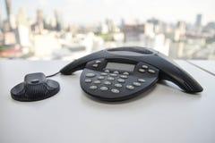 Телефон IP - прибор конференции Стоковые Изображения RF
