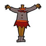 тело вампира шуточного шаржа женское (шаржи смешивания и спички шуточные Стоковые Изображения