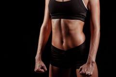 Тело женщины спорта Стоковое Фото