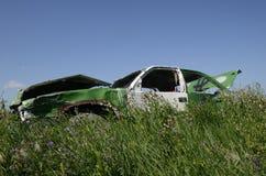 Тело повреждения гоночной машины Стоковые Фотографии RF