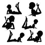 Тело позиции людей женщины Стоковое Фото