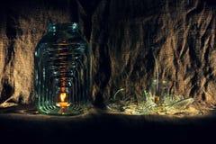 тело утончает раздумье auguste эзотерическо Sansara разнослоисто Стоковое Изображение RF