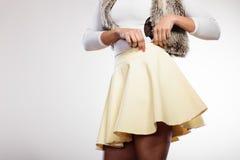 Тело части девушки моды Стоковая Фотография RF