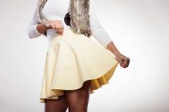 Тело части девушки моды Стоковые Фотографии RF