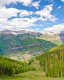 Теллурид, Колорадо, самый красивый город в США стоковые фотографии rf