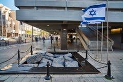 Тель-Авив - 10 02 2017: Известный квадрат Ицхака Рабина, время дня Стоковое фото RF