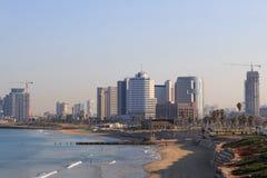 Тель-Авив. Панорамный взгляд от Яффы стоковое изображение rf