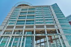 Тель-Авив - 10 02 2017: Центр Ihilov медицинский в Тель-Авив, buildi Стоковые Изображения RF