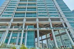 Тель-Авив - 10 02 2017: Центр Ihilov медицинский в Тель-Авив, buildi Стоковые Фотографии RF