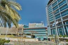Тель-Авив - 10 02 2017: Центр Ihilov медицинский в Тель-Авив, buildi Стоковое Изображение