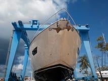 Те яхта Стоковое Изображение RF