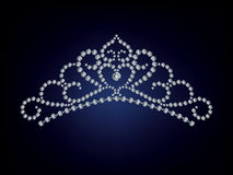 тиара диаманта Стоковое фото RF