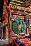 тибетец барабанчика стоковое изображение