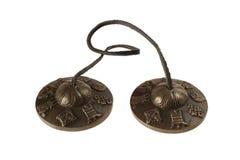 тибетец бронзы колоколов Стоковые Изображения