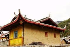 тибетец буддийского виска Стоковые Фотографии RF