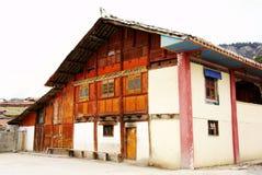 тибетец буддийского виска Стоковая Фотография RF