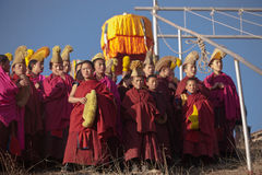 тибетец будизма Стоковая Фотография