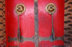 тибетец виска двери Стоковые Фотографии RF