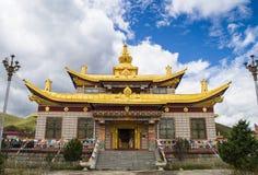 тибетец виска Стоковые Изображения
