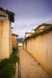 тибетец виска стоковая фотография