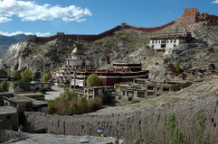 тибетец виска lama Стоковые Фото