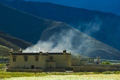 тибетец дома Стоковые Фото