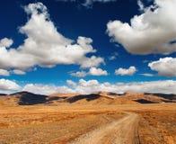 тибетец ландшафта стоковые фотографии rf