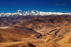 тибетец ландшафта стоковые изображения rf