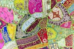 тибетец орнамента вышивки традиционный стоковое фото