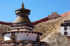 тибетец lamasery Стоковое Фото