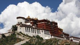 тибетец potala дворца Стоковая Фотография RF